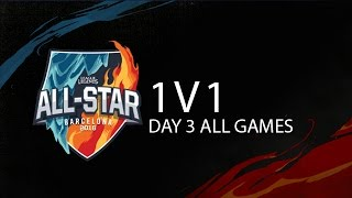 1v1 Tournament Highlights All-Star 2016 Day 3 - All of the gaming ending moments