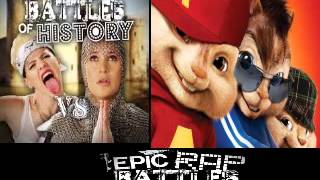 Miley Cyrus vs Joan of Arc. Epic Rap Battles of History Season 3. CHIPMUNKS / CHIPETTES version