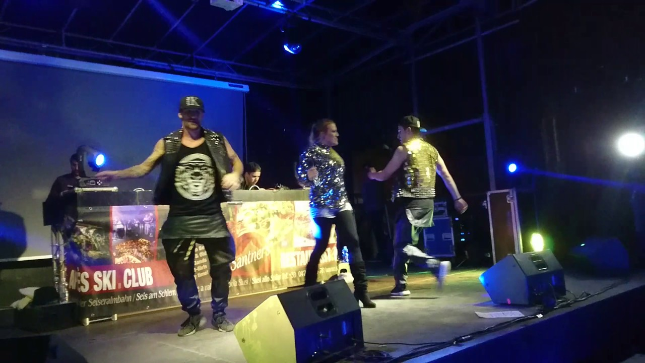 Cascada Performing LIVE Everytime We Touch Club Santners Castelrotto Italy