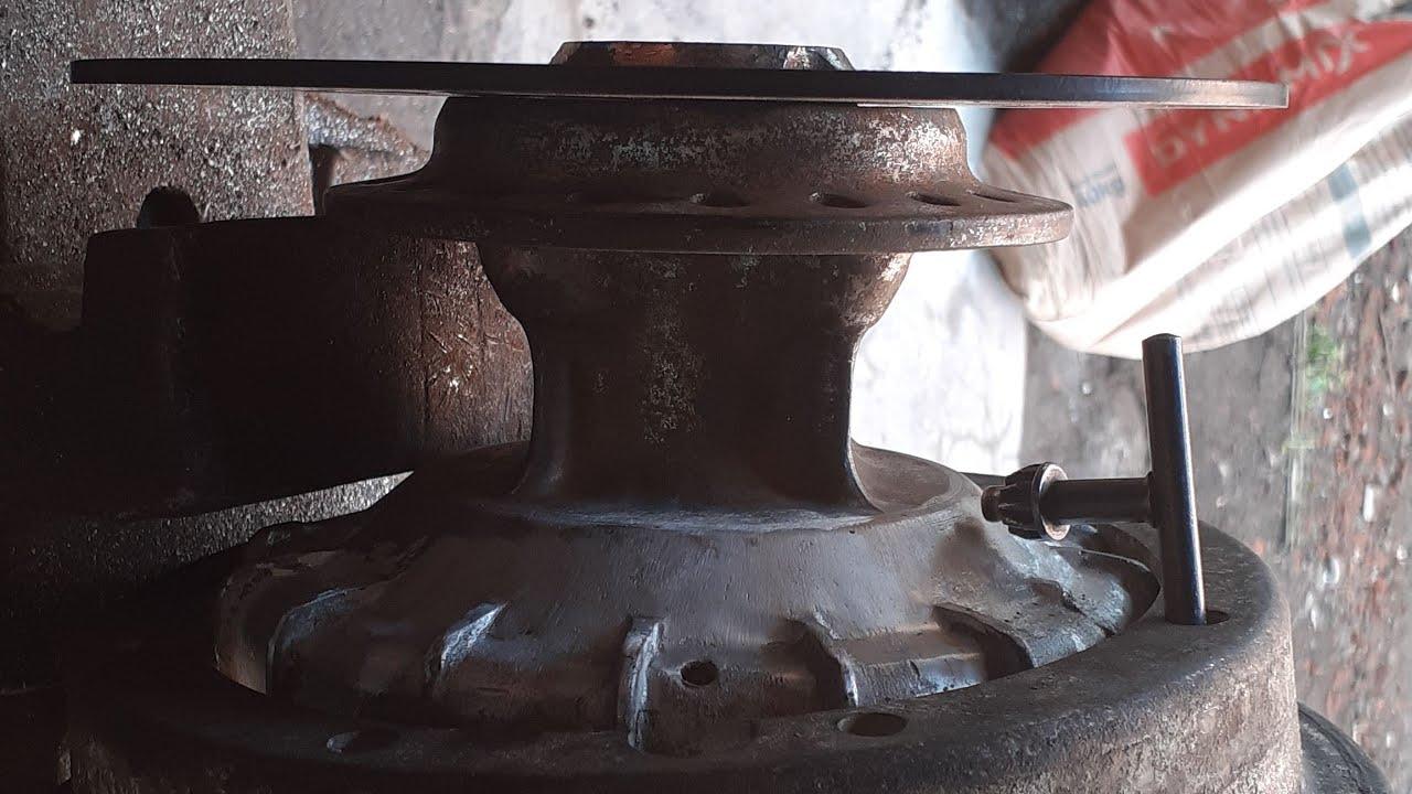 Las aluminium, cara tromol vespa pnp cb - YouTube