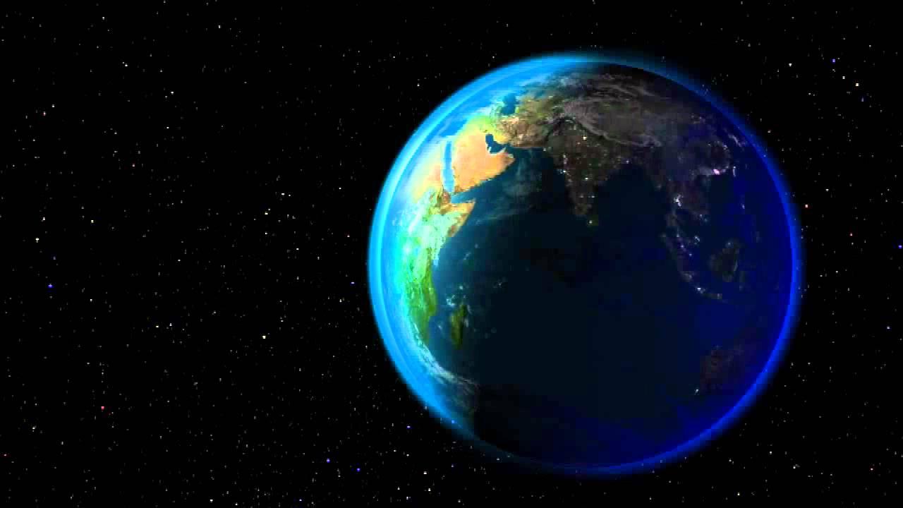 Draaiende wereld youtube - Vloerlamp van de wereld ...