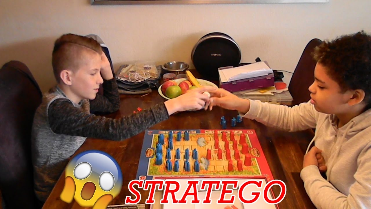 Stratego Junior Spel Review Youtube