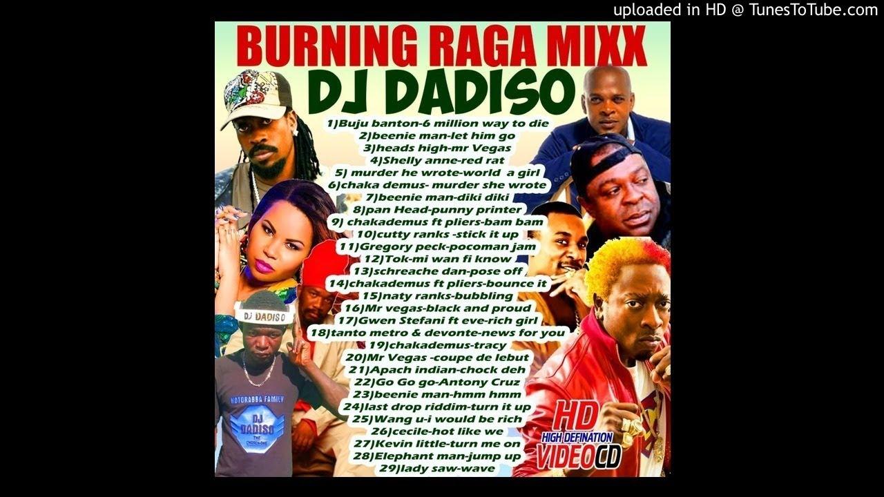 Download DJ DADISO - BURNING RAGGA MIX