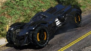GTA 5 PC Mods - Batman Arkham Knight Batmobile