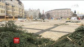 У столиці згортають центральне Різдвяне містечко