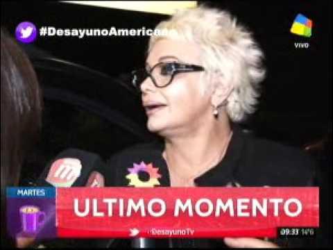 Carmen Barbieri fue blanco de delincuentes en la puerta de Ideas del Sur