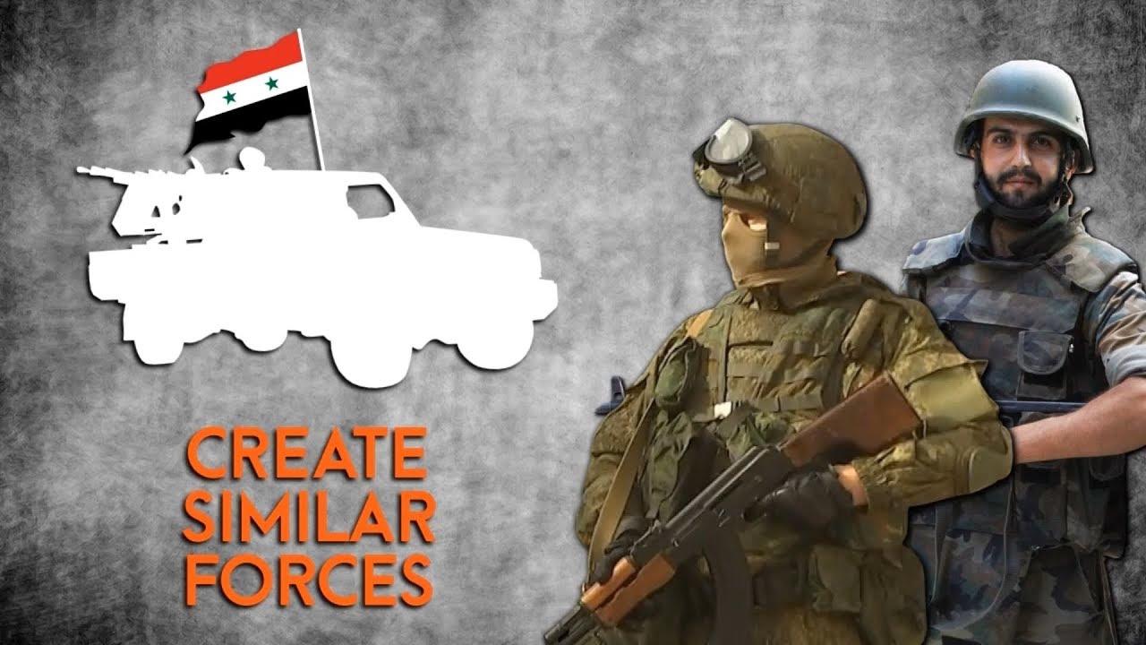 Российские УАЗы несут службу в Сирии