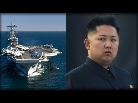 """THE USS RONALD REAGAN JUST GOT ITS ORDERS... """"ROCKET MAN"""" IS GONNA BE TICKED"""