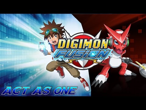 Digimon Fusion Full English Opening ''Act As One!'' (Extended/Remix) SE Included