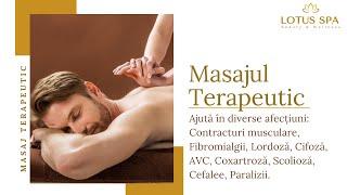 Masajul Terapeutic al Spatelui