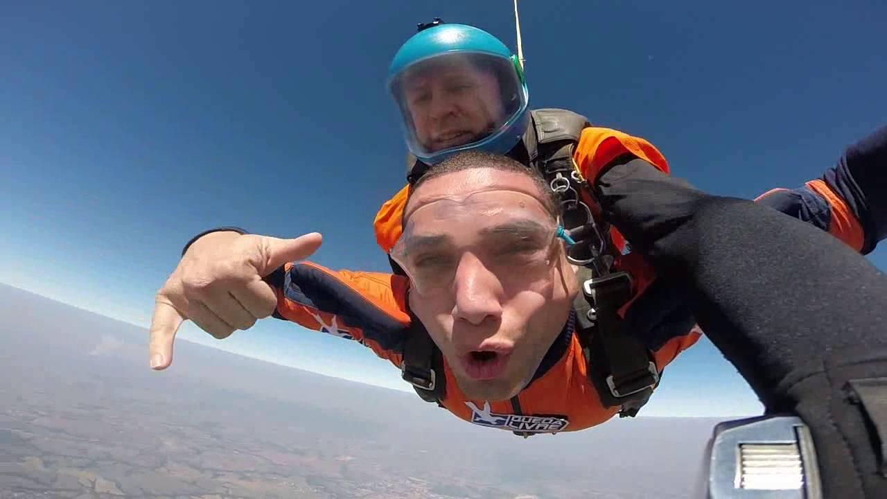 Salto de Paraqueda do Wesley na Queda Livre Paraquedismo 31 07 2016