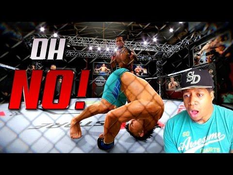 FRONT FLIP KNOCK OUT! - EA Sports UFC 2 Career #1