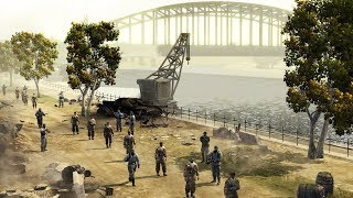 German Army Defends Major Bridge - Market Garden 1944   Company of Heroes: Opposing Fronts Gameplay