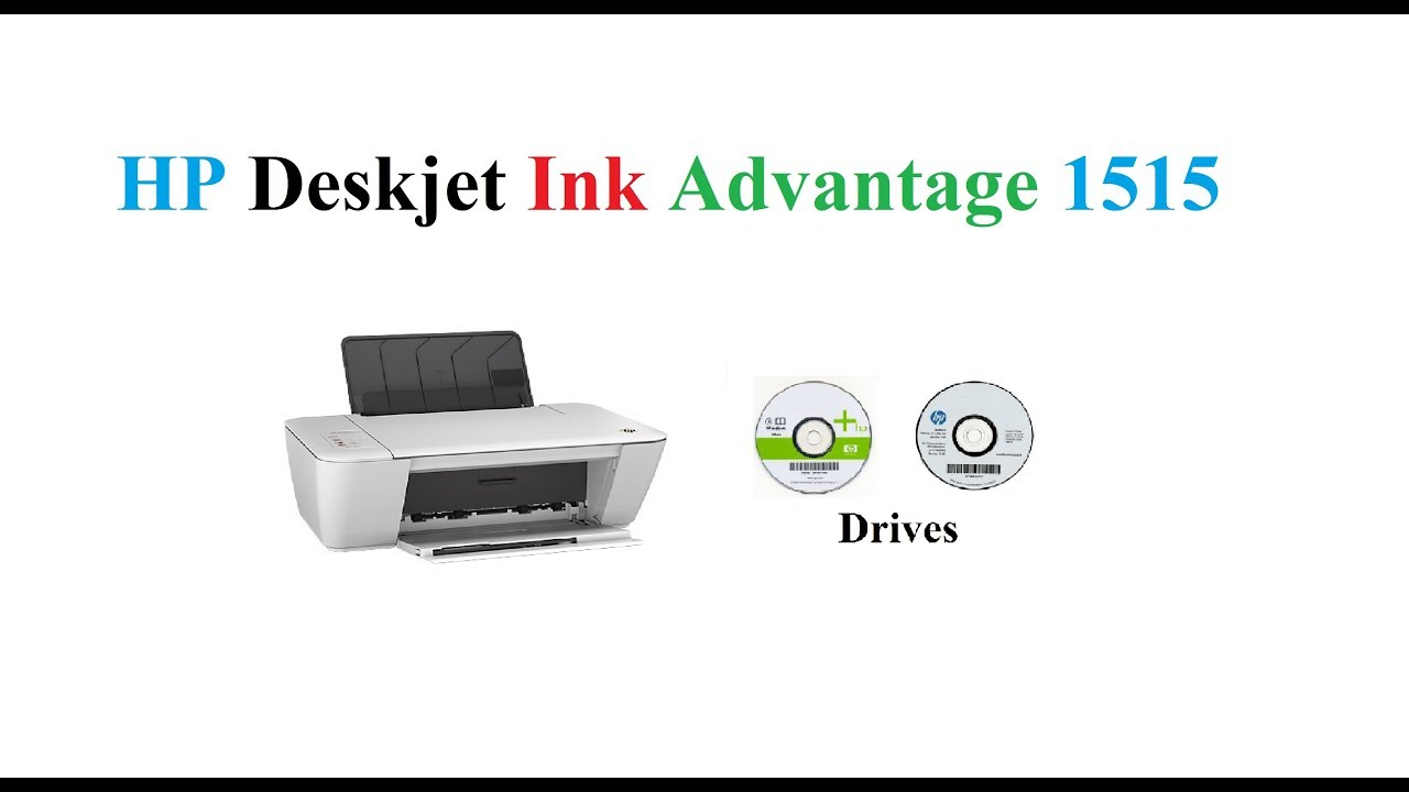 Hp Deskjet Lnk Advantage 1515 Driver Youtube