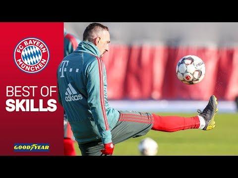 Amazing Skills w/ Ribéry, Lewandowski, James & more! | FC Bayern