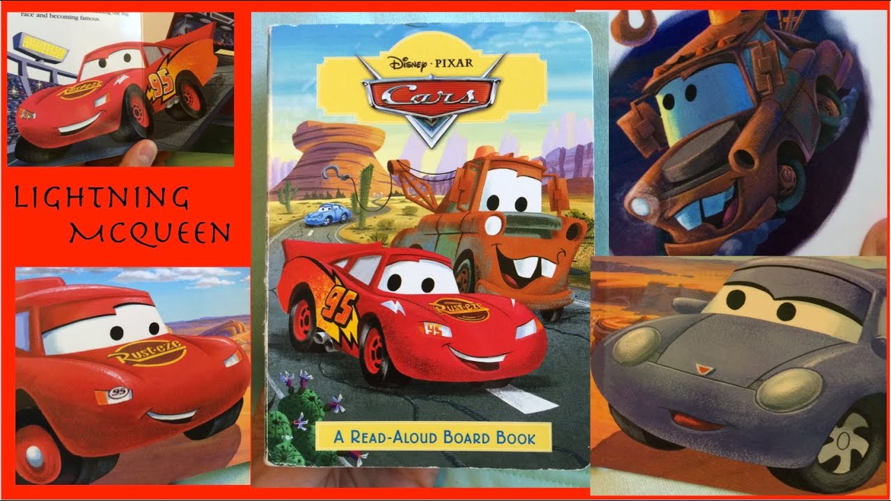 LIGHTNING MCQUEEN!! Cars!! Race and Story!!! BOOK READING ...
