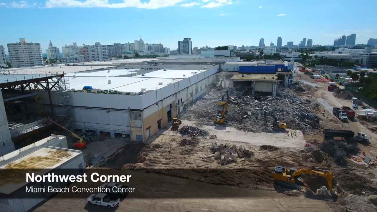 Miami Beach Convention Center January 2017
