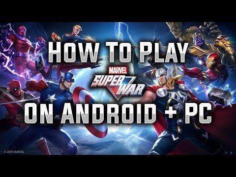 How To Play MARVEL Super War on Android + PC