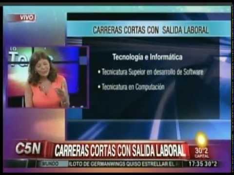 C5N - EDUCACION: CARRERAS CORTAS CON SALIDA LABORAL