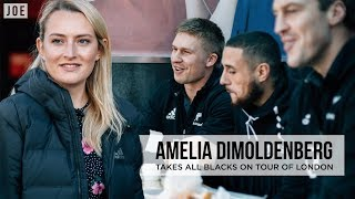 All Blacks vs Chicken Shop Date   Amelia Dimoldenberg takes New Zealand rugby team on London tour