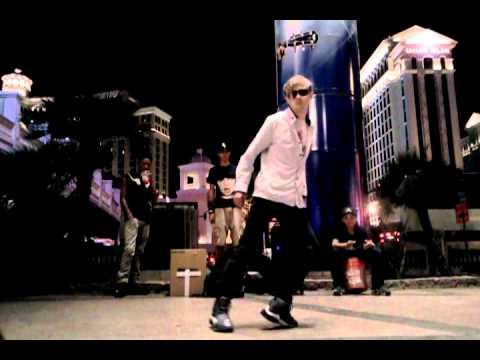 Крутые танцоры в Вегасе CRAZY STREET DANCE in VEGAS 2012 part1