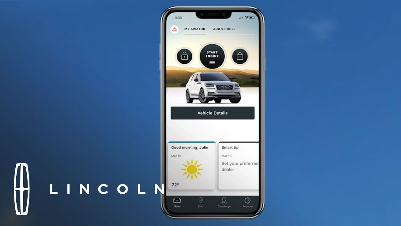 My Lincoln Mobile App >> Lincoln Way App How To Lincoln