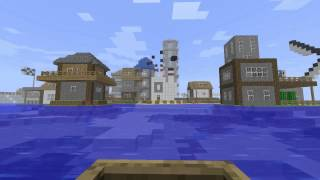 Minecraft - From boring island to a paradise - World and Music Download