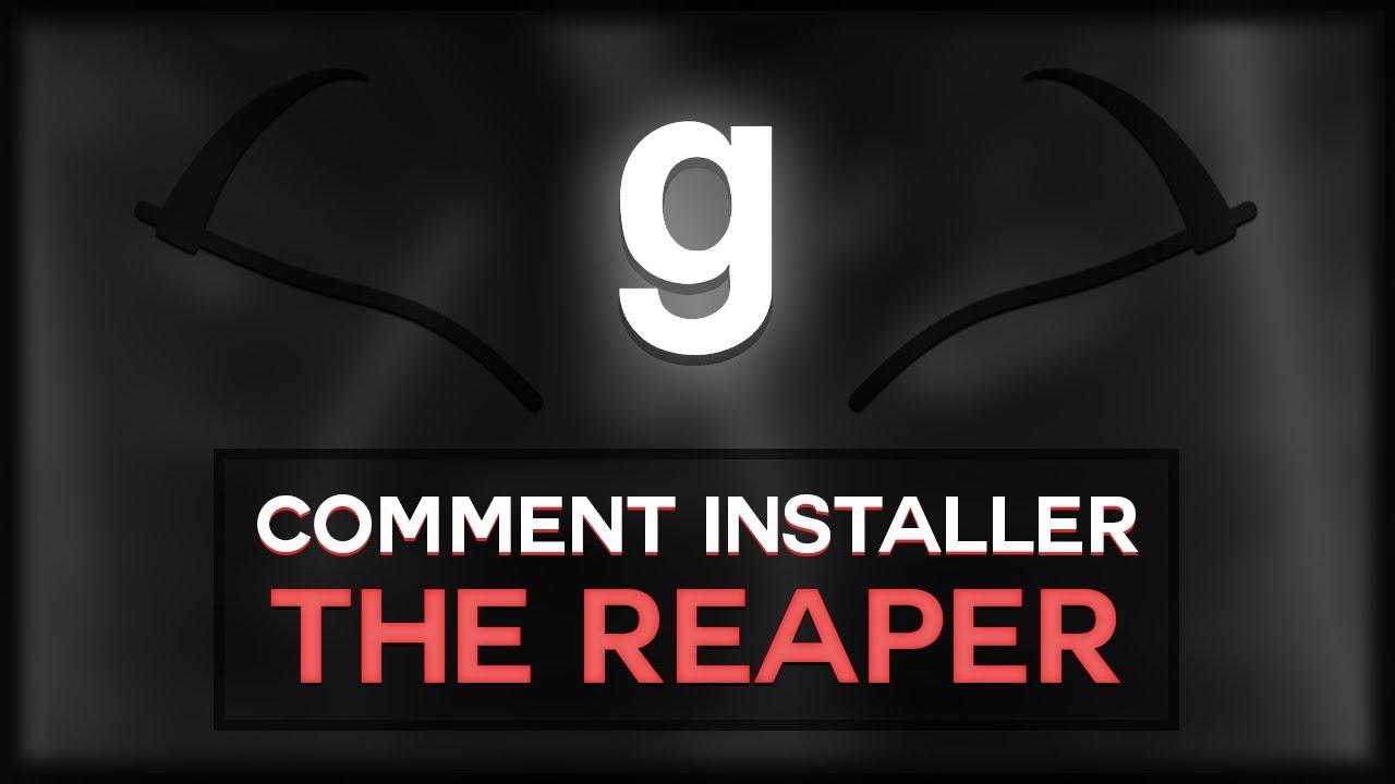 gmod comment installer un menu gratuit the reaper youtube. Black Bedroom Furniture Sets. Home Design Ideas