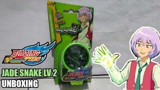 Unboxing Yoyo Blazing Teens The Legendary Warrior - Jade Snake Lv2