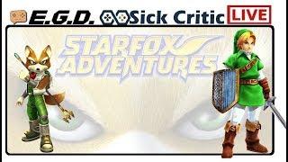 🔴EGD | Zelda Star Fox Game?? | Star Fox Adventures Part 2