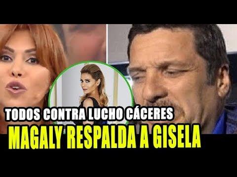 MAGALY RESPALDA A GISELA Y LE DICE DE TODO A LUCHO CACERES
