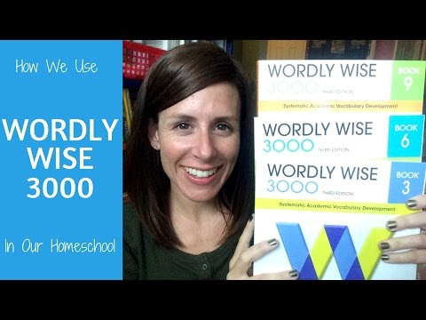 How We Use Wordly Wise in our Homeschool