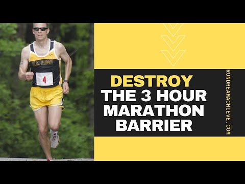 Training Schedule for Sub 3 Hour Marathon Mastery | Vo2Max Tips