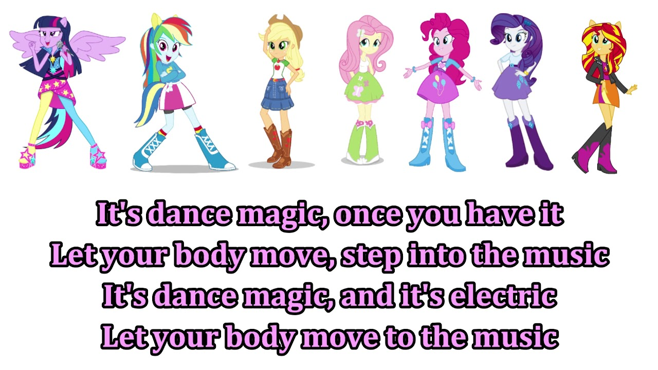 My Little Pony - Equestria Girls Dance Magic Lyrics