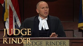 Judge Rinder Tells Sassy Claimant She's Out of His League   Judge Rinder