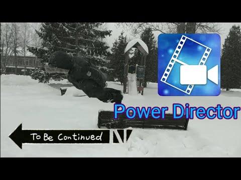 Как сделать мем to be continued в Power Director