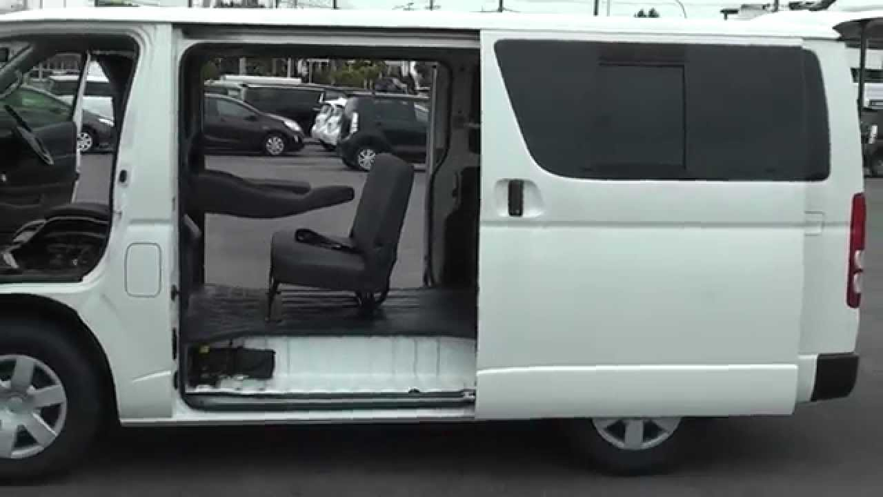 Toyota Hiace Commercial van Import for sale from www EdwardLees com au