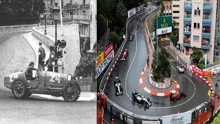 The Evolution/History of the Monaco Grand Prix