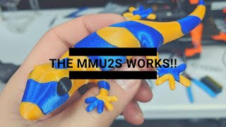 THE MMU2S WORKS!!