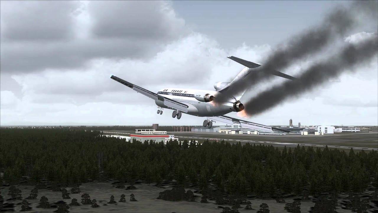 Tokyo Narita Plane Crash Boein...