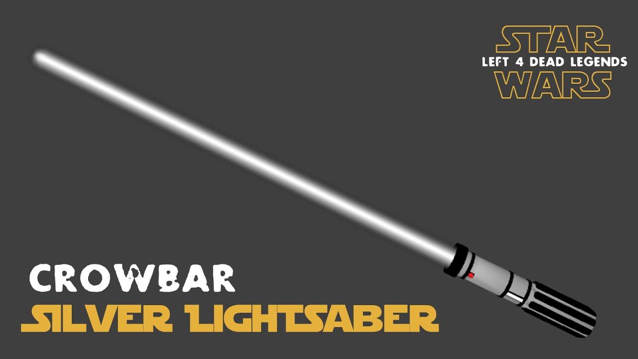 Silver Lightsaber