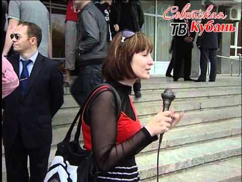 Вице-губернатор Кубани Золина убежала от журналистов
