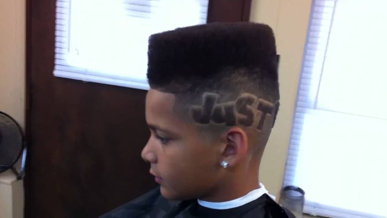 Just Do It Box High Top Flat Top Fade Youtube