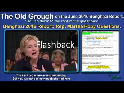 Benghazi 2016 Report: Rep. Martha Roby Questions. OGB 24 of 41