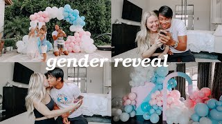 gender reveal for baby #4 + our reactions!! 💙💗