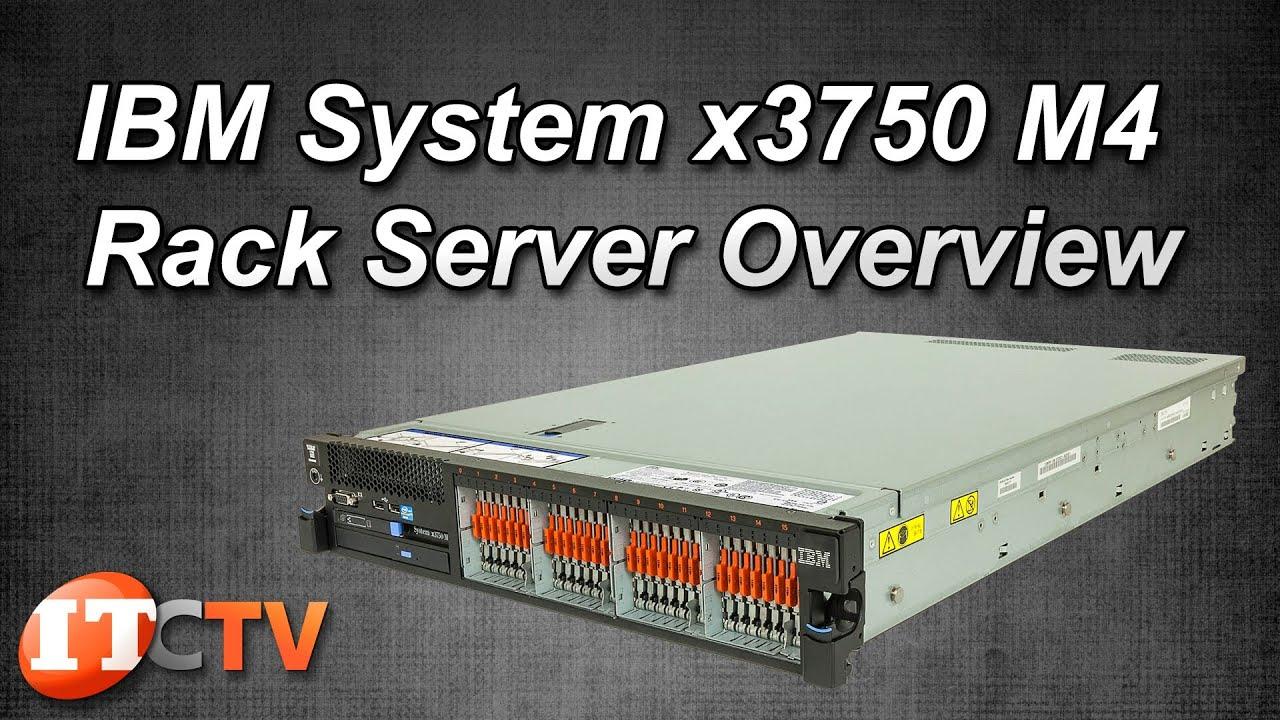 ibm system x3750 m4 rack server overview