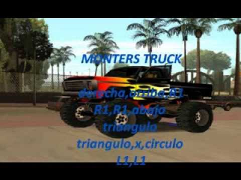 Trucos Para Gta San Andreas Ps2 Youtube