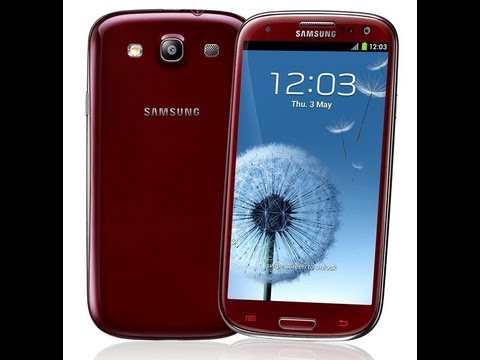 unboxing the samsung galaxy s3 s iii note sgh i747 att red youtube rh youtube com Owner Manual Samsung Galaxy S III Mini Samsung Galaxy Tab E