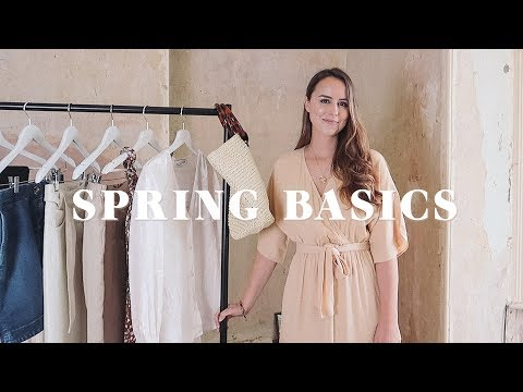 SPRING BASICS HAUL | & Other Stories | Laura Melhuish-Sprague