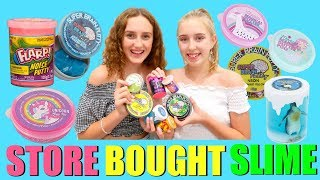 SLIME REVIEW - Testing Store Bought Slime Vs Homemade Slime and Putty - Satisfying Slime